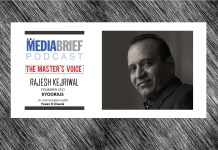 image-rajesh kejriwal kyoorius on mediabrief podcast The Masters Voice with Pavan R Chawla