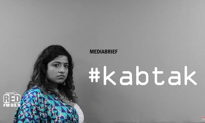 image-R J Malishka in RED FM's KabTak campaign Video-MediaBrief