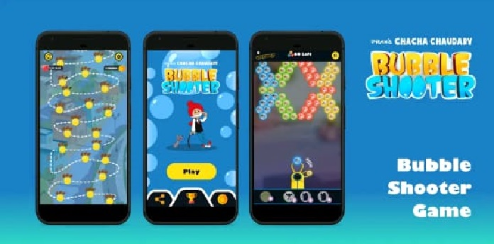 Chacha Chaudhary Bubble Shooter Game 1