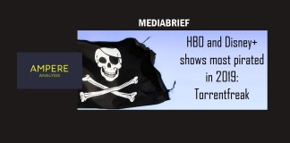image - Ampere Analysis Most Pirated TV shows on Torrents in 2019- MediaBrief