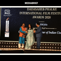 Nisha Narayanan honoured as 'Business Leader of the Year' at the prestigious Dadasaheb Phalke International Film Festival Awards 2020