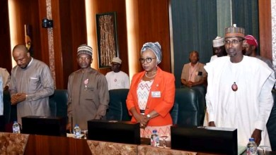 Photo of Minister meets with FEC chairs by Osinbajo