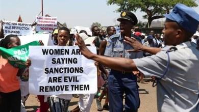 Photo of Fresh sanctions slapped on Zimbabwe