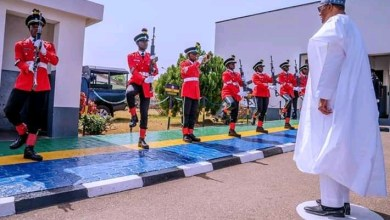 Photo of It's the duty of the police to handle internal security- Buhari