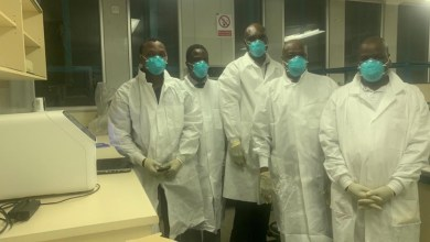 Photo of First Zimbabwean coronavirus patient cleared