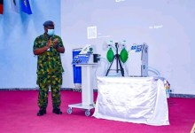 Photo of COVID-19: NAF unveils locally produced emergency ventilators
