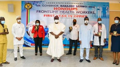Photo of One Year Anniversary: Sanwo-Olu honors health workers in Lagos
