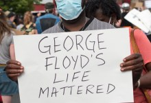 Photo of Americans protest : Floyd murdered over $20 counterfeit note