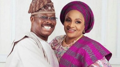 Photo of First Lady extends condolences to ex Oyo State Governor's wife