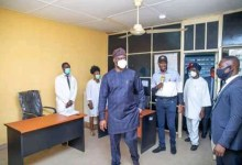 Photo of Makinde Commissions Aafin Primary Health Center In Oyo