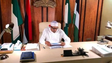 Photo of APC Crisis: Buhari backs Victor Giadom as Acting National Chairman