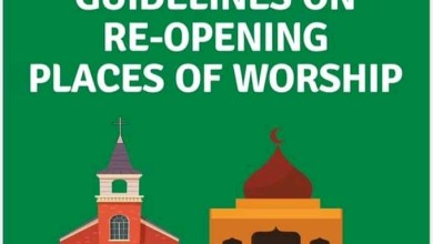 Photo of COVID-19: FG rolls out guidelines on reopening of religious gatherings