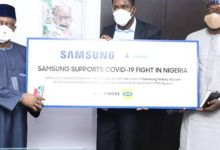 Photo of COVID-19: FG receives 500 units of Smart phones from Samsung, MTN
