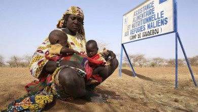 Photo of Burkina Faso's humanitarian crisis