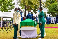 Photo of Arotile: NAF lays Nigeria's first female combat copter pilot to rest