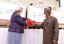 Photo of COVID-19: FG receives 200 Ventilators from US to boost response