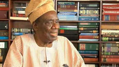 Photo of Four Months After, Chief Richard Akinjide Buried Privately