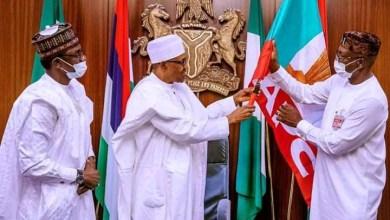 Photo of Buhari Endorses Ize-Iyamu For Edo APC