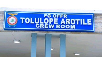Photo of NAF immortalizes late first combat copter pilot, Tolulope Arotile