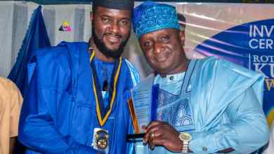 Photo of Rotary Int'l: Awotiku Becomes Ibadan-Challenge President