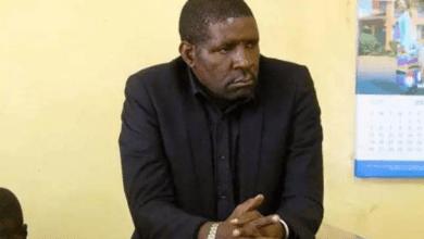 Photo of Nakuru East MP David Gikaria arrested.