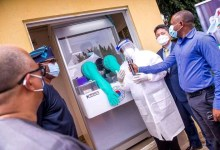 Photo of COVID-19: Korea donates 3 Walk-through Sample collection to Nigeria