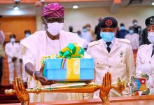 Photo of Sanwo-Olu Presents 2021 Appropriation Bill to Lagos Assembly