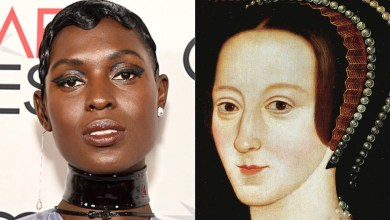 Photo of Jodie Turner-Smith criticized for playing a historically white figure