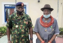 Photo of DG salutes Ogoni Traditional Rulers for supporting NYSC