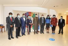 Photo of Health Agency Head Visits WHO Rep in Nigeria