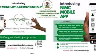Photo of Nigerian Govt launches Mobile App for NIN applicants