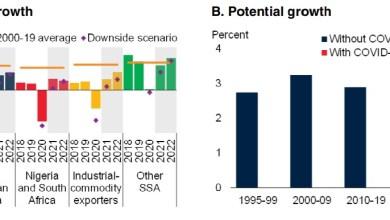 Photo of Sub-Saharan Africa economy to rebound moderately to 2.7% in 2021: WB