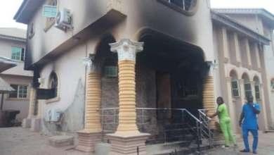 Photo of BREAKING: Hoodlums set Igboho's house ablaze, Police confirms