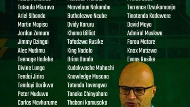 Photo of Zimbabwe names provisional squad for AFCON qualifiers