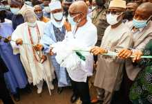 Photo of Ondo Governor, Akeredolu Commissions Road Project