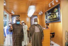 Photo of Senate President, Ahmad Lawan Visits Orisun Gallery