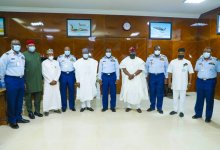 Photo of Chief of Air Staff, Amao Receives House Committee Members on Air Force