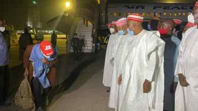 Photo of Kwankwaso Receives 370 Students From India