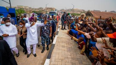 Photo of Sanwo-Olu Opens Four Roads To Ease Inter-State Traffic