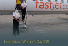 Photo of Fastjet performs all-female flight for international women's day