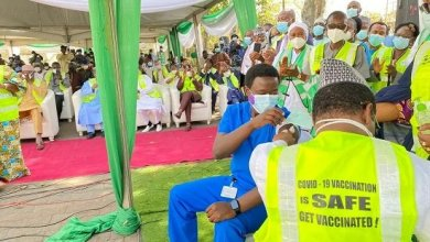 Photo of Dr. Ngog Becomes First Nigerian To Take COVID-19 vaccine