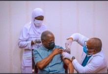 Photo of President Muhammadu Buhari and VP Osibanjo Vaccinated for COVID-19