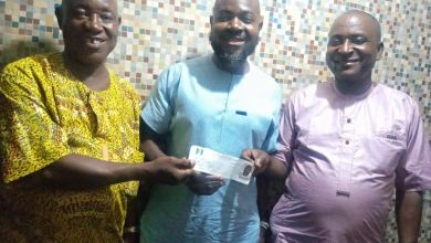 Photo of Arisekola's Scion, Semih Alao, Revalidates APC Membership