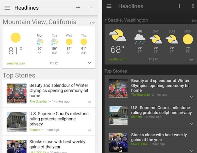 """La nouvelle application """"Google Actualités"""" pour iPhone/iPad"""