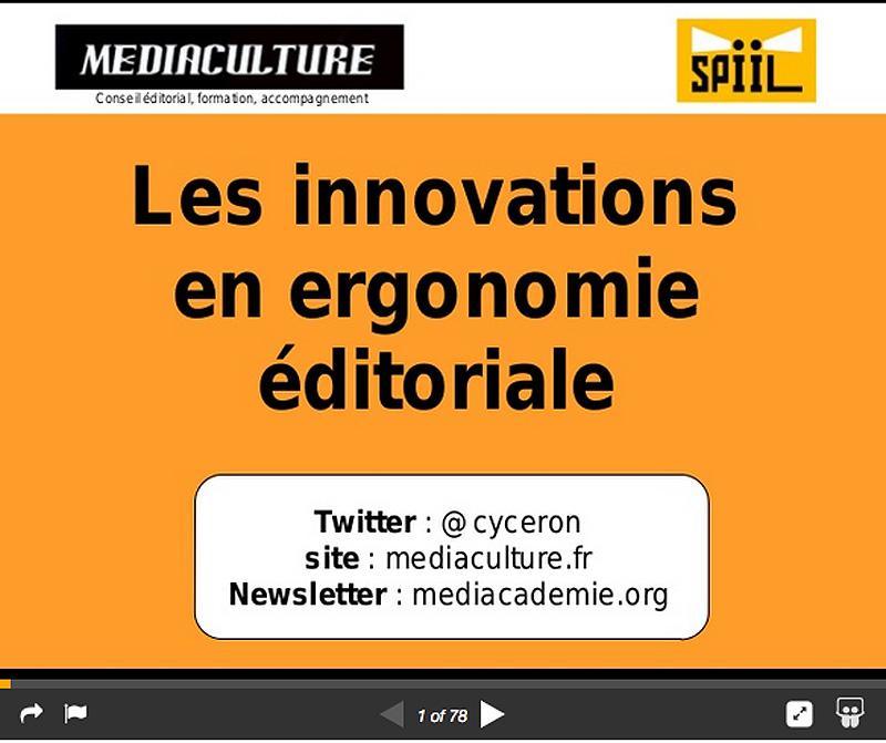 Ergonomie éditoriale : tendances et innovations pour 2015