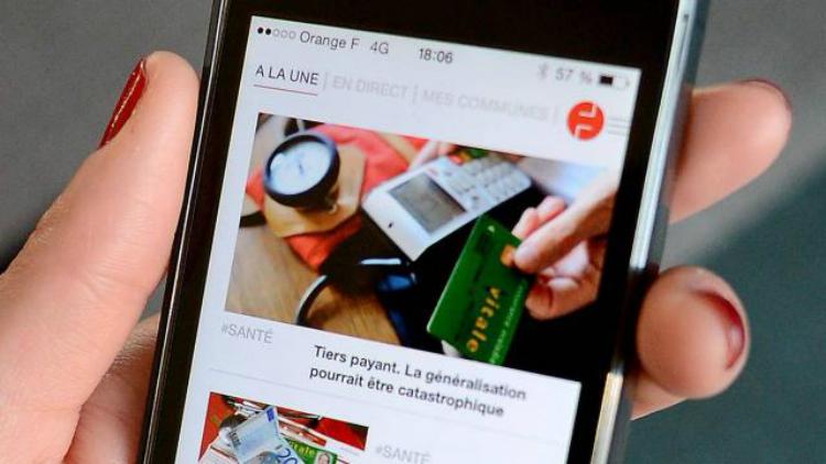 La nouvelle appli mobile et personnalisable de Ouest-France lancée en mars dernier.