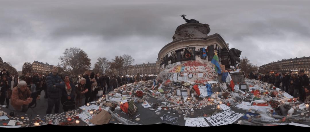 Le premier reportage d'actualité en 360° du New York Times: Paris après les attentats du 13 novembre.