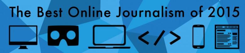 Les meilleures narrations journalistiques de 2015 sur le web