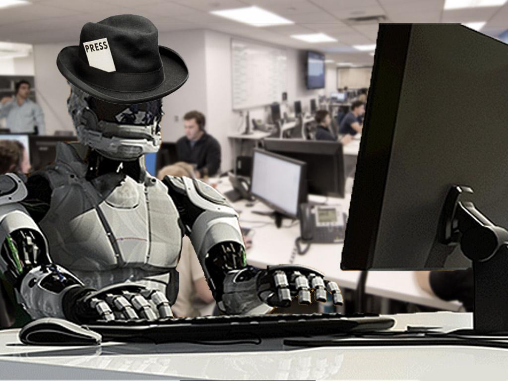 Journaliste robot dans des newsrooms sécurisées…Voilà ce qui nous attend en 2026