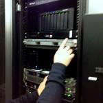 Armoire de serveurs en data-centre